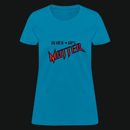 BLACK OPS TEE - Women's T-Shirt
