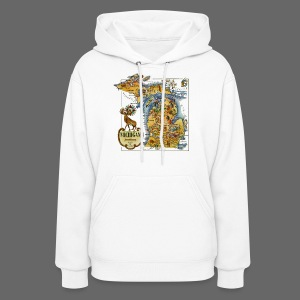 1946 Michigan Map - Women's Hoodie