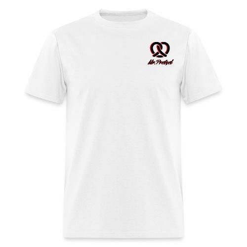 Mr pretzel small logo t shirt (all colors) - Men's T-Shirt