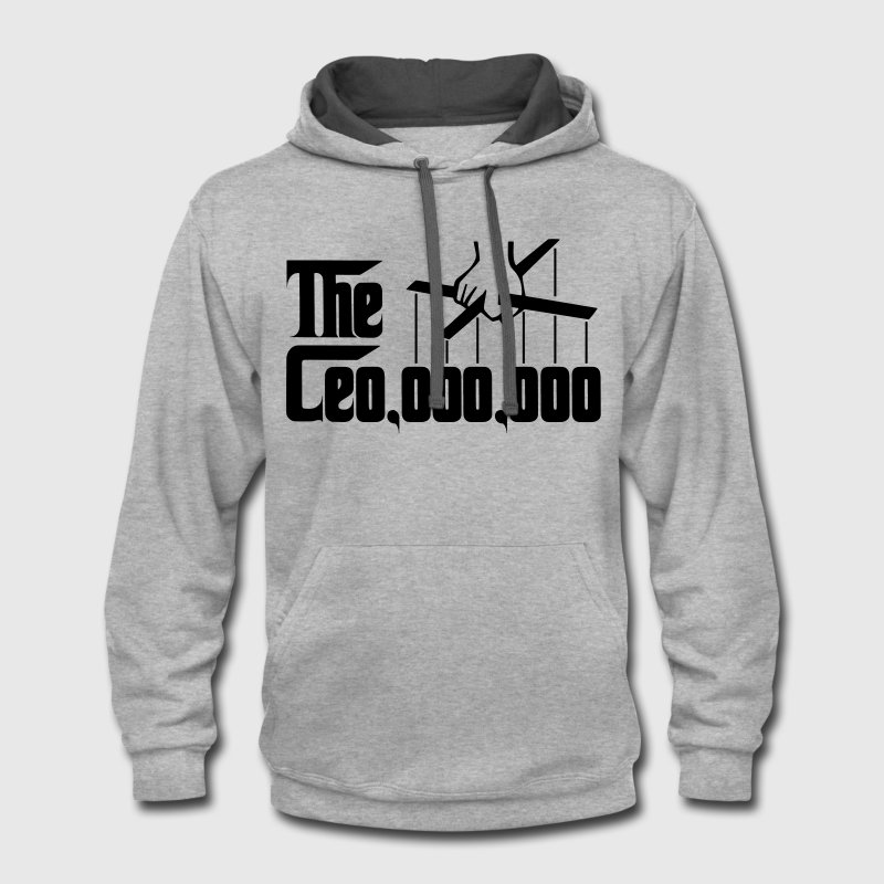 Ceo 000 000 Godfather Puppet Hand Hoodies - Contrast Hoodie