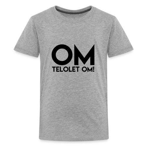 OM TELOLET OM 2 - Grey - Kids' Premium T-Shirt