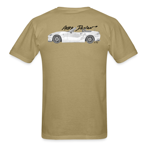 ND Miata T-Shirt (With Front Logo) - Men's T-Shirt