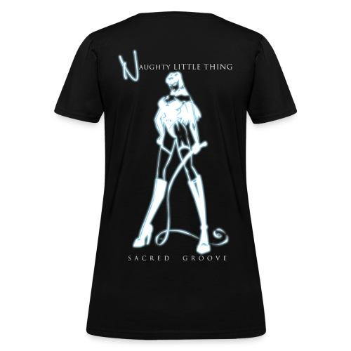 SG Naughty Little Thing - Woman's T-shirt - Women's T-Shirt