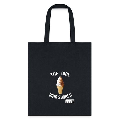 Girl Who swirls totoe bag - Tote Bag