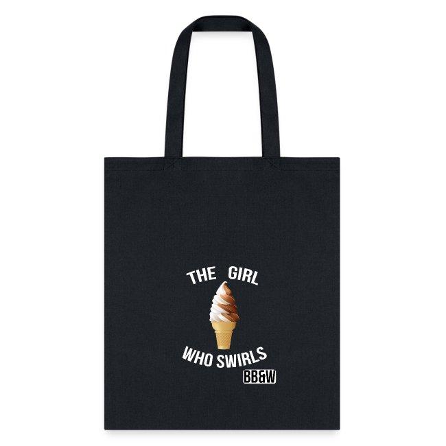 Girl Who swirls totoe bag