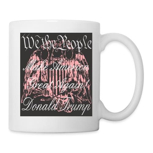 Make USA Coffee Mug - Pink Design - Coffee/Tea Mug
