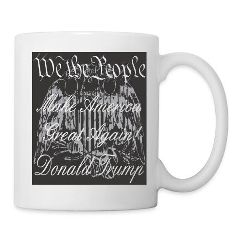 Make USA Coffee Mug - Grey Design - Coffee/Tea Mug