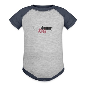 God mommy and kids - Baby Contrast One Piece