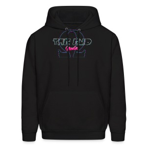 The End Media Logo (Retro) Hoodie - Men's Hoodie