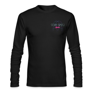The End Media Logo (Retro) Long Sleeve Shirt - Men's Long Sleeve T-Shirt by Next Level