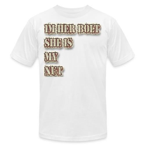 im her bolt - Men's Fine Jersey T-Shirt