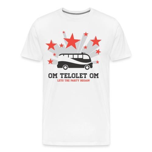 OM TELOLET OM - Men's Premium T-Shirt