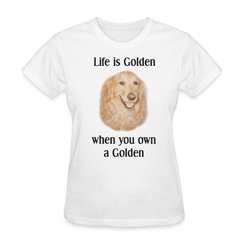 Golden Retriever Rescue Dogs - Women's T-Shirt