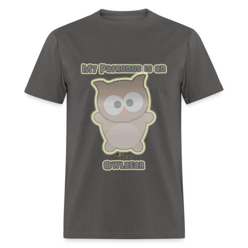 My Patronus is an Owlbear Men's Tee - Men's T-Shirt