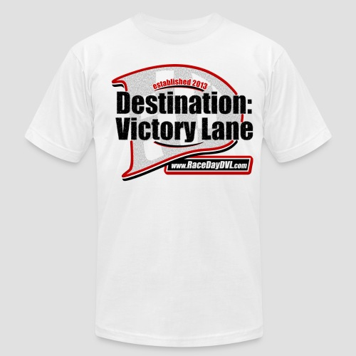 Retro D Logo White T-Shirt - Men's  Jersey T-Shirt