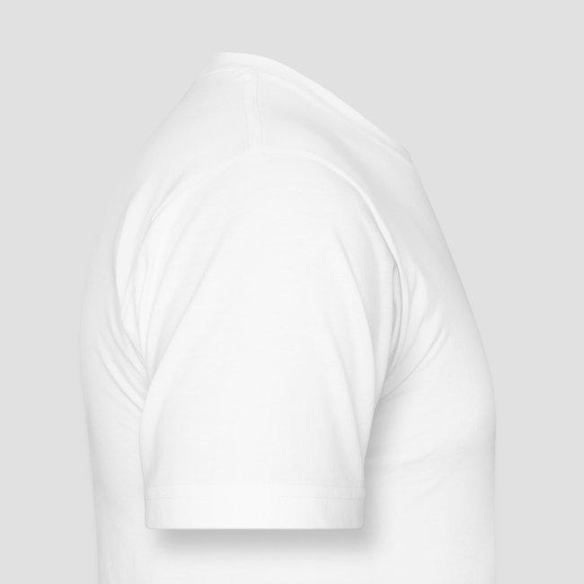 Retro D Logo White T-Shirt