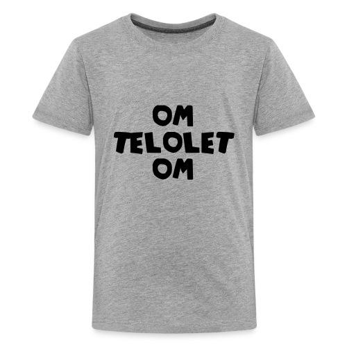 OM TELOLET OM 1 - Grey - Kids' Premium T-Shirt