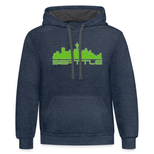 Emerald City - Contrast Hoodie
