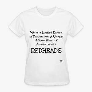 REDHEAD Quotes T-shirt by Stephanie Lahart. #5 - Women's T-Shirt