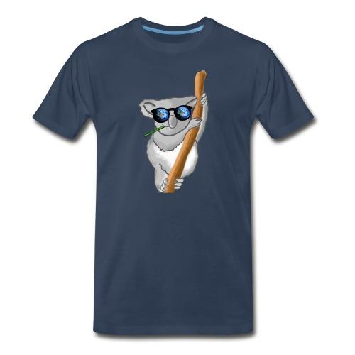 Space Koala  - Men's Premium T-Shirt
