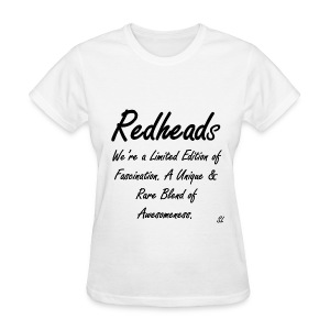 REDHEAD Quotes T-shirt by Stephanie Lahart. #7 - Women's T-Shirt
