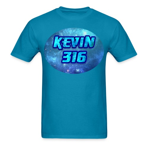 Kevin316 Men's Blue Galaxy T-Shirt - Men's T-Shirt