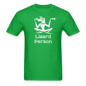 Lizard Person T-Shirt - Men's T-Shirt