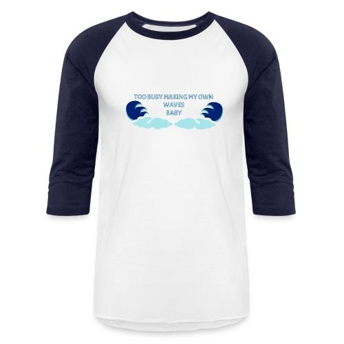 Waves Base Ball Tee - Baseball T-Shirt