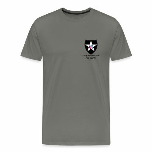 2nd Infantry Indianhead - Men's Premium T-Shirt