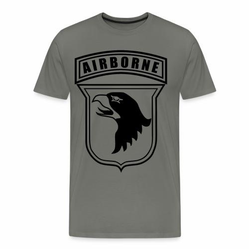 101st Airborne stencil - Men's Premium T-Shirt