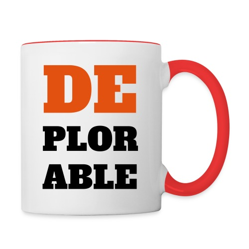 DEPLOR-ABLE Mug - Contrast Coffee Mug