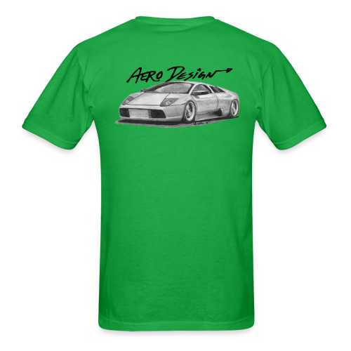 Murcielago T-Shirt (With Front Logo) - Men's T-Shirt