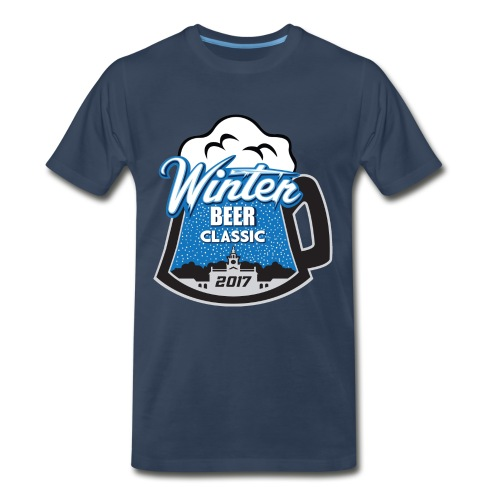 Men's Premium T-Shirt - large logo - Men's Premium T-Shirt