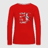 LEAVE MY TITS ALONE - Women's Premium Long Sleeve T-Shirt
