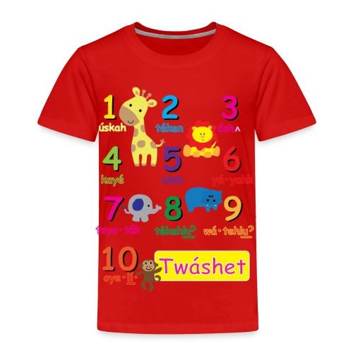 Let's Count Toddler - Toddler Premium T-Shirt