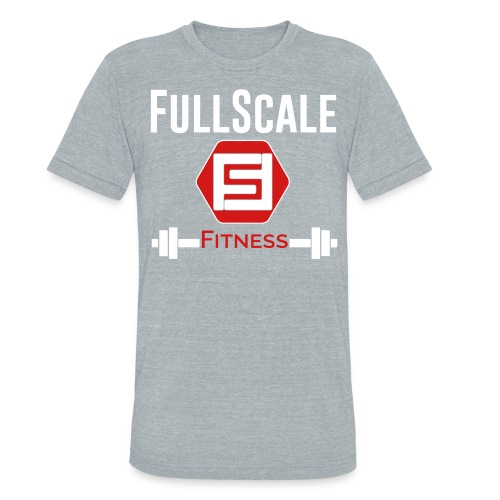 Comfy FSF Stacked Tee - Unisex Tri-Blend T-Shirt