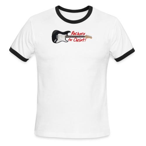 RockersforChtist shirt - Men's Ringer T-Shirt