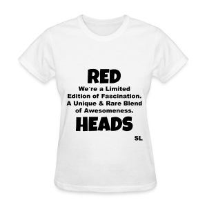 REDHEAD Quotes T-shirt by Stephanie Lahart. #13 - Women's T-Shirt