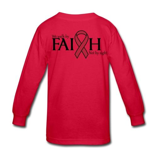 red shirt for kids - Kids' Long Sleeve T-Shirt