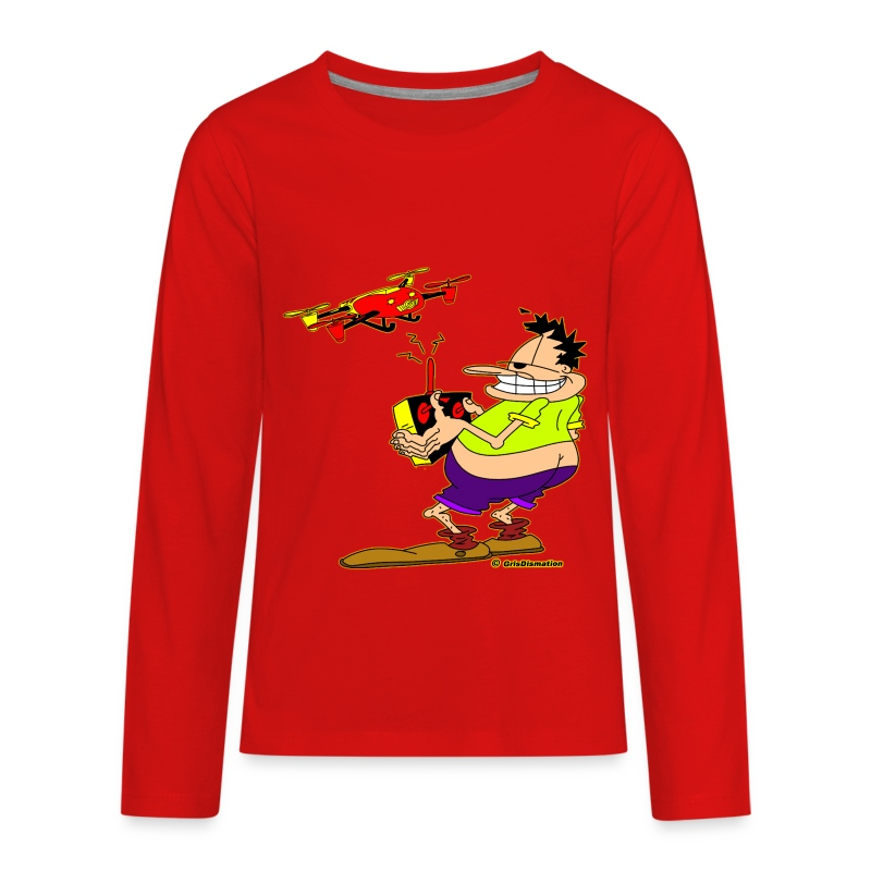 Ongher Droning Out - Kids' Premium Long Sleeve T-Shirt