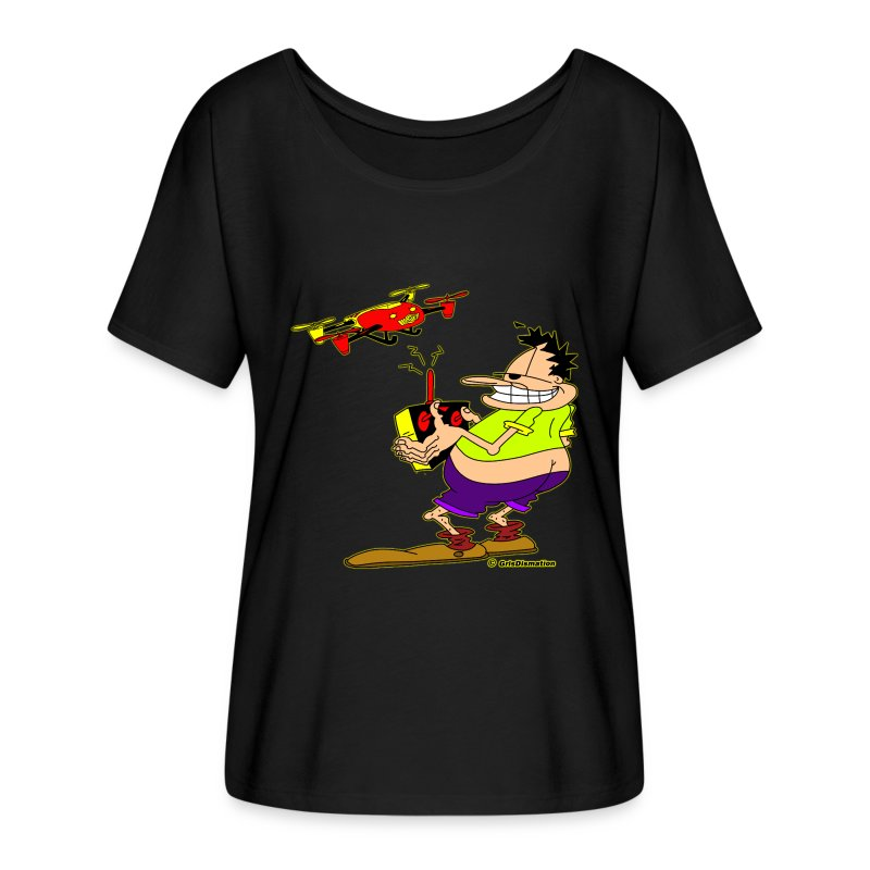 GrisDismation's Ongher Droning Out-Ongher flying-G - Women's Flowy T-Shirt