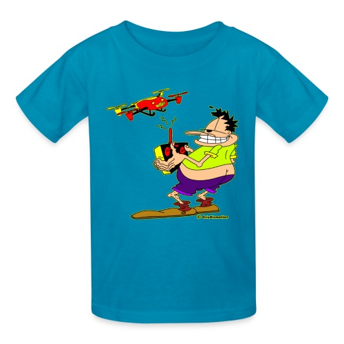 Ongher Droning Out - Kids' T-Shirt