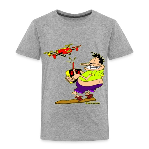 GrisDismation's Ongher Droning Out-Ongher flying-G - Toddler Premium T-Shirt