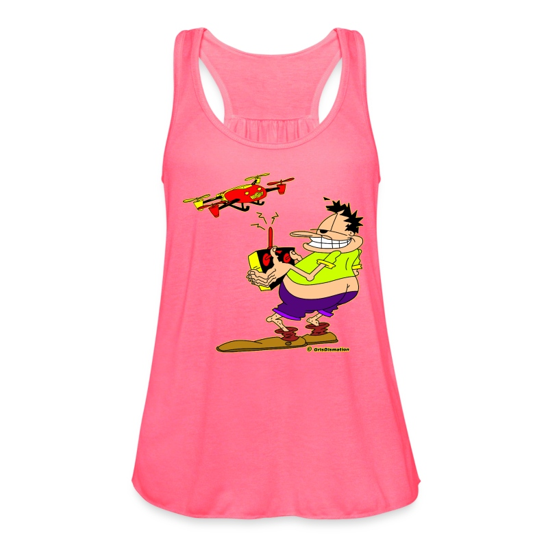 Ongher Droning Out - Women's Flowy Tank Top by Bella