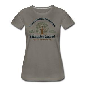 Pre-Industrial Revolution Climate Control -Premium Tee - Women's Premium T-Shirt
