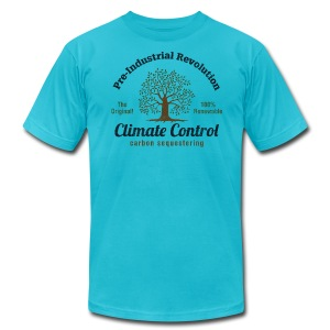 Pre-Industrial Revolution Climate Control - Men's T-Shirt by American Apparel