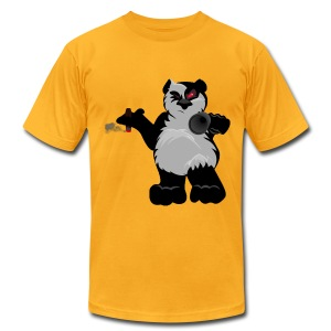 Panda's Mafia - Men's T-Shirt by American Apparel