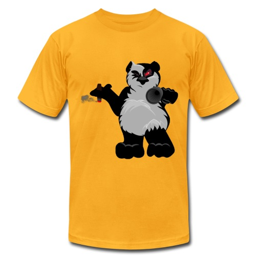 Panda's Mafia - Men's Fine Jersey T-Shirt