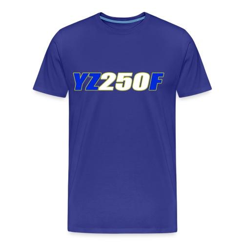 yz250f - Men's Premium T-Shirt