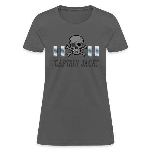 Capt Jack f - Women's T-Shirt